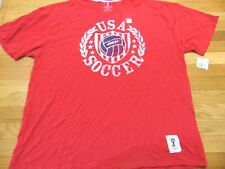 NEW TEAM USA SOCCER RETRO T-SHIRT SIZE 2XL FIFA WORLD CUP