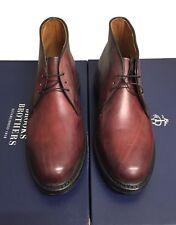 Allen Edmonds for Brooks Brothers Dark Red New Men's Chukka Boot Size 8.5