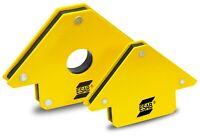 ESAB™ Schweißmagnethalter Winkelpfeil MIG MAG TIG WIG Magnetischer