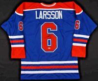 Adam Larsson Signed Edmonton Oilers Hockey Jersey Autographed FREE USA SHIPPING!