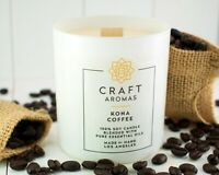 Artisan Scented Candles | Natural Wooden Wick Soy Candles    ~Select Your Aroma~