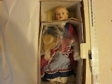MARIE OSMOND ELEANOR SOMEWHERE IN TIME 241/2500  MIB WITH CROUQUET MALLETS,BALLS