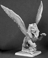 Reaper Miniatures Sphinx, Nefsokar Monster #14256 Nefsokar Unpainted D&D Mini