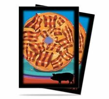 Ultra Pro Bacon Donut Sleeves 50ct.
