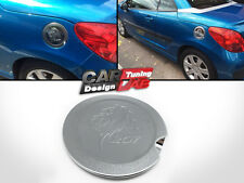 Replacement plastic ABS Fuel Tank Gas Cap Cover Lion Logo for Peugeot 207cc 207