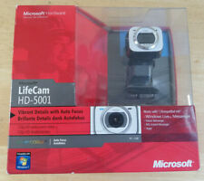 Microsoft LifeCam HD-5001 HD Auto focus Webcam 720P Zoom Skype