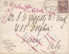 Washington, DC to USS Dolphin, Havana, 1891, See Remark (21267)