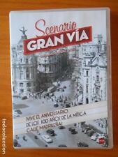 DVD SCENARIO GRAN VIA RAFAEL ZARZA CONMEMORA 100 AÑOS DE LA CALLE MADRILEÑA (R3)