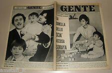 GENTE 1964/2=FARAH DIBA=DOMENICO MODUGNO=LUCILLA MORLACCHI=RENATA TEBALDI=