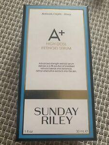 SUNDAY RILEY A+ High-Dose Retinoid Serum 30ml RRP £70 Genuine New