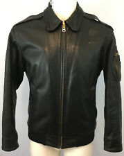 Aviation Leathercraft NATO Tigers Leather Flying Jacket Size L Made In Britain