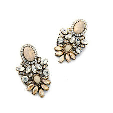 New Vintage Ladies Stud Earrings High Quality Crystal Earring New Statement