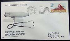 Enveloppe conquête spatiale américaine du 6 10 1963 de Vandenberg Atlas Rocket