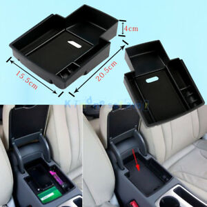 Glove Armrest Storage Console Secondary Box Tray For Audi A4 A5 2013 2014