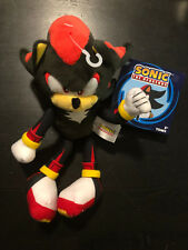 "SONIC THE HEDGEHOG PLUSH 8"" SHADOW"