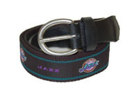 The Mark Adult Canvas Material NBA Utah Jazz Belt 34