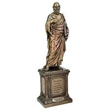 "Socrates ancient Greek Philosopher Statue Sculpture 13"""