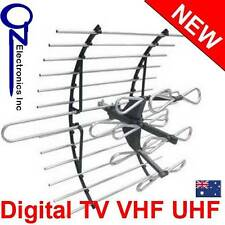 Digital TV Outdoor Antenna UHF VHF FM for AUSTRALIAN conditions 4.6dBi gain