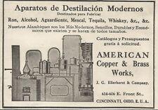 W5267 Macchina per la Distillazione - American Copper - Pubblicità 1913