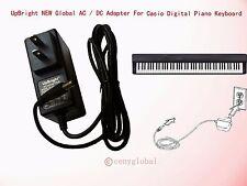 Worldwide AC Adapter For Casio Privia Digital Piano Keyboard Series Power Supply