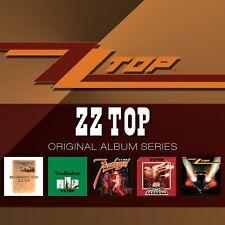 ZZ Top ORIGINAL ALBUM SERIES Box Set DEGUELLO Eliminator TRES HOMBRES New 5 CD