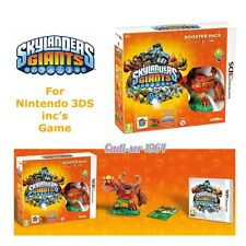 *NEW* Nintendo SKYLANDERS GIANTS BOOSTER PACK for 3 DS inc GAME & FIGURE