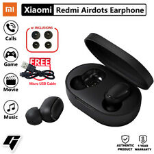 Xiaomi Redmi AirDots Wireless Bluetooth 5.0 Earbuds with FREE Micro USB Cable