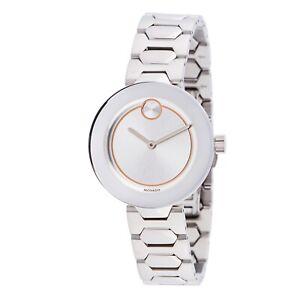Movado 3600381 Women's Bold Grey Quartz Watch