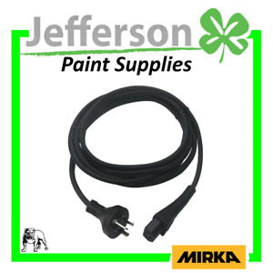 Mirka Mains Power Cable Lead 4.3M CE 230V ANZ - DEROS DEOS LEROS - MIE9017511
