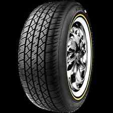 BRAND NEW SET OF 4 215-65r15 VOGUE WIDE TRAC TOURING II TIRE NEW GOLD & WHITE