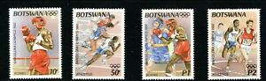 1992 Botswana Olympic games set of 4 Unmounted Mint