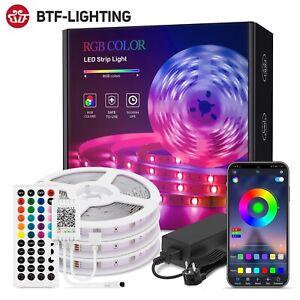 Bluetooth LED Strip Kit IR 44 Key 2835 5050 Flexible Lights RGB for Andriod IOS