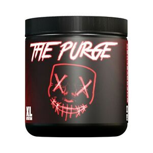 XL Nutrition The Purge 225g Pre Workout, High Caffeine, helps energy and focus