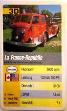 Cuarteto tarjeta individuales-la France-Republic-art.nr.472
