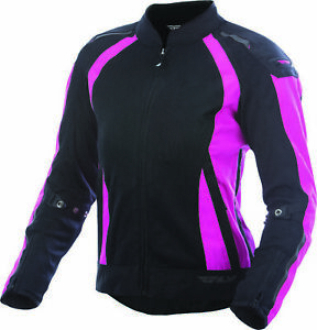 Fly Racing Women's Coolpro Jacket 3XL Pink/Black 477-80583X