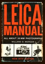 Leica Manual and Data Book manuale in inglese 1961 W.D.Morgan D614