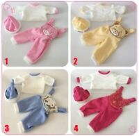 Reborn Baby Dolls Clothing Set 4 Style Suit for 22 inch Reborn Doll Accessoires