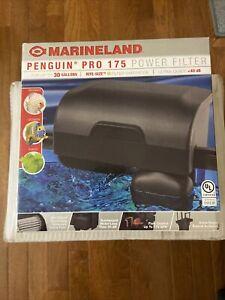 Marineland Penguin PRO 175 Aquarium Power Filter 175 GPH Up To 30 Gallon Tank