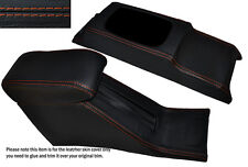 ORANGE STITCH CONSOLE & ARMREST SKIN COVERS FITS HONDA CIVIC EG6 EG9 EJ1 92-95