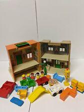 Vintage Playskool Little People/Sesame Street Lot (LOOSE)