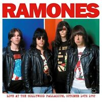RAMONES - LIVE AT THE HOLLYWOOD PALLADIUM OCTOBER 14TH, 1992 VINYL LP