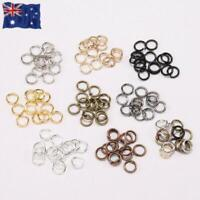Lots O-ring Double Loop Split Open Jump Rings Link Connectors Jewellery Findings