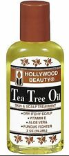 Hollywood Beauty Tea Tree Oil Skin - Scalp Treatment, 2 oz (Pack of 2)