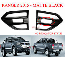Fit 2015 16 17 Ford Everest Side door vent scoop Matte Black Side door Air flow