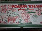 Marx Wagon Train Playset Vintage Playset 4805 Series Box Repro COLORED MATCH SET