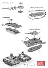 Plastic Soldier Russian T70 Tank (1 Tank / 1 Variants) 1 - Sprue