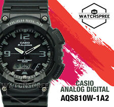 Casio Analog Digital Tough Solar Watch AQS810W-1A2 AQ-S810W-1A2 AU FAST & FREE
