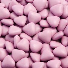 1kg Boite Env. 900 Violet De Luxe Mini Cœur Dragees Mariage / Cadeau De Baptême