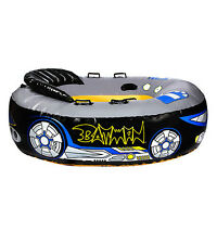 Hedstrom Batman Heavy Guage Pvc Inflated Oval Towable Tube - Free Shipping