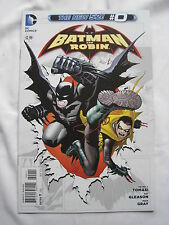 BATMAN and ROBIN  # 0  ZERO. DC THE NEW 52.  DC. 2013